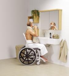 Baño accesible.Baño adaptado
