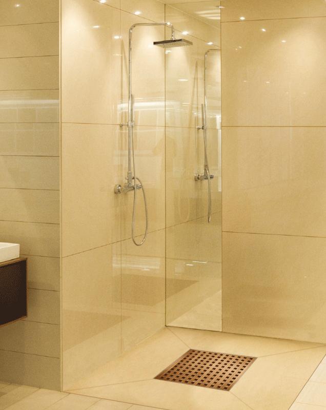 Plato de ducha de obra for Articulos de ducha