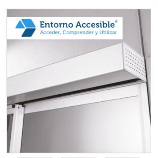 Operador autom tico para puertas correderas dorma es 200 for Convertir puerta normal en corredera