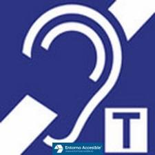 Símbolo accesibilidad auditiva