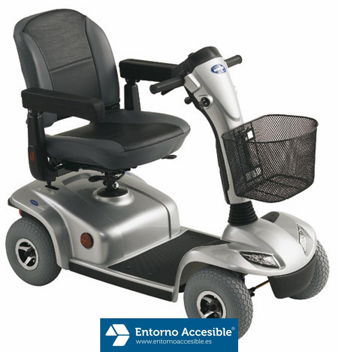Scooter Invacare Leo. 4 ruedas