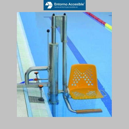 Elevadores para piscinas entorno accesible ascensores for Alberca para 8 personas