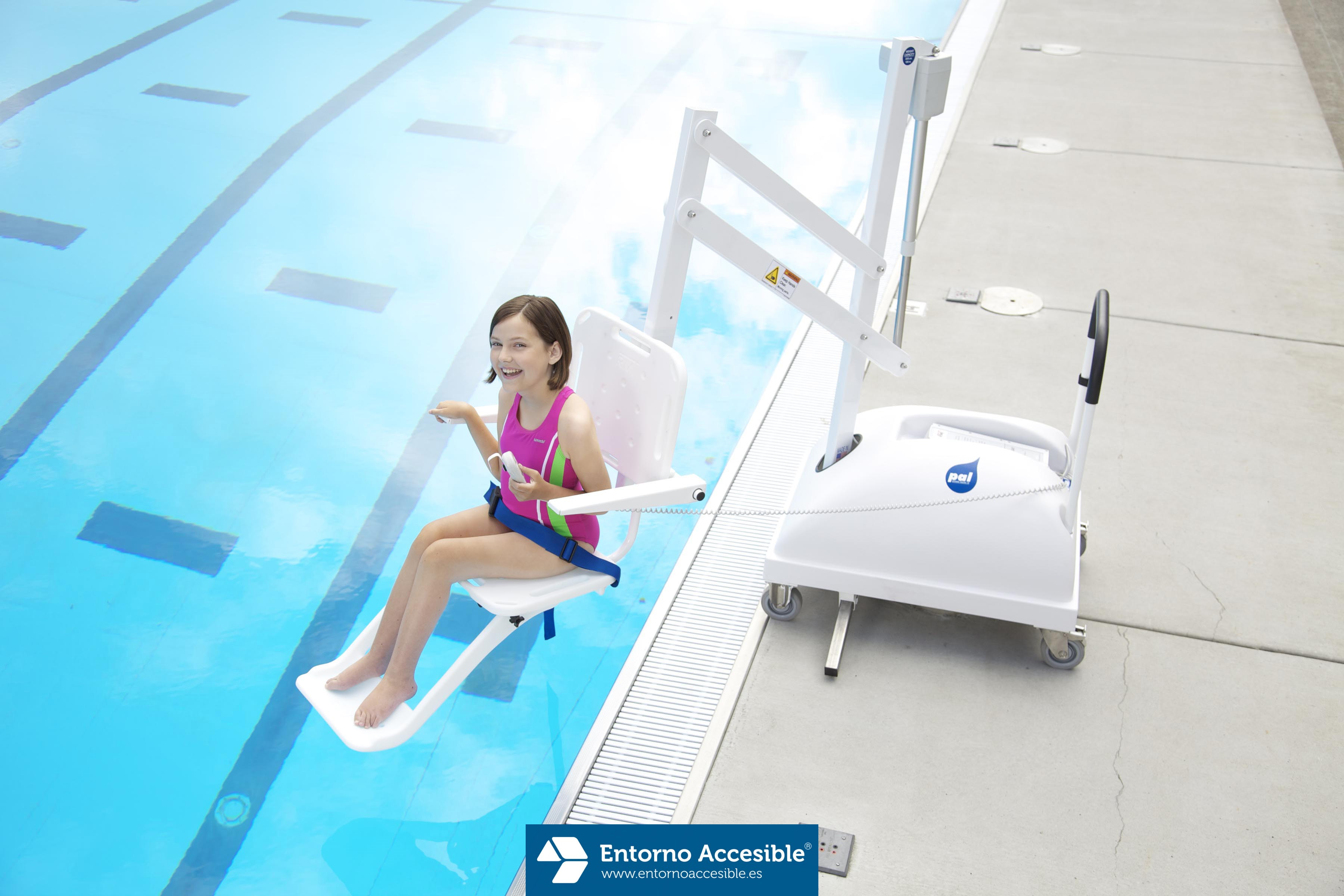 Elevadores para piscinas