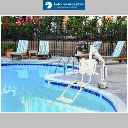 Elevadores para piscinas entorno accesible ascensores for Piscinas portatiles precios