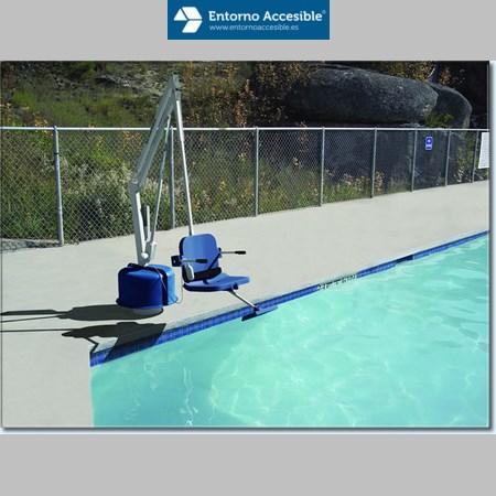 Elevadores para piscinas entorno accesible ascensores for Suministros para piscinas