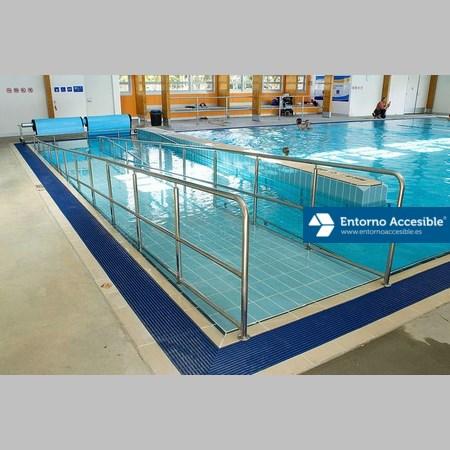 Piscinas y spas accesibles entorno accesible for Alberca para 8 personas
