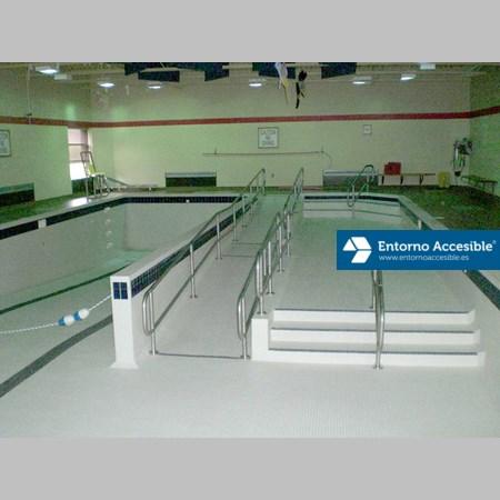 Piscinas y spas accesibles entorno accesible for Rehabilitacion en piscina