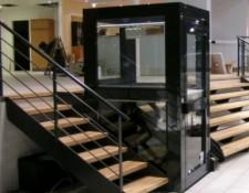 Plataforma salvaescaleras vertical VIMEC STEPPY