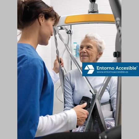 Grúas geriátricas para elevación de pacientes