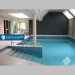 Fondo móvil. Piscina hidroterapia