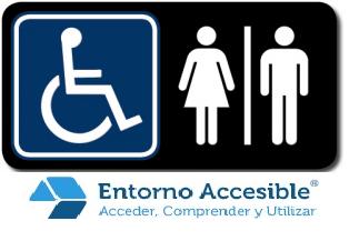 señalética accesible baños