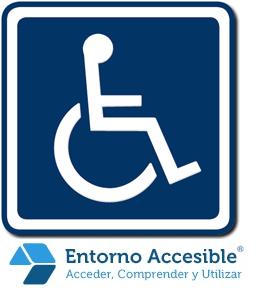 señalización paso discapacitados edificios